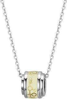 Jude Jewelers 不锈钢夜光爱心箭头魅力项圈项链