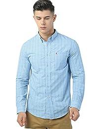 IZOD 美国设计师品牌多色长袖衬衣