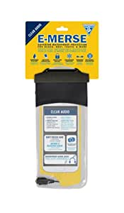 Seattle Sports E-Merse Clear Dry Audio Waterproof Case, Black