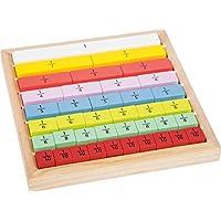 Educate 木质破断计算儿童儿童,木制学习玩具,木制框架用于练习小学儿童和入学计算,4 岁以上专业 Kind FSC Holz 多色