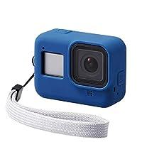 Elecom宜丽客 GoPro HERO8 Black 硅胶手机壳 藏青色 AC-GP8BSSCNV