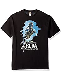 任天堂 男式 Zelda Breath of The Wild Link Epona 造型 T 恤