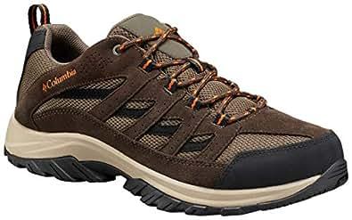 Columbia 男士 Crestwood 徒步鞋 Camo Brown, Heatwave 7 W US