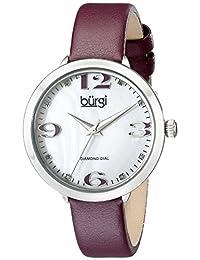 Burgi 石英女士手表 BUR119PU(亚马逊进口直采,美国品牌)