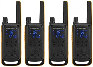 Motorola Talkabout T82 Extreme PMR446 双向对讲机四件套 - 黄色/黑色