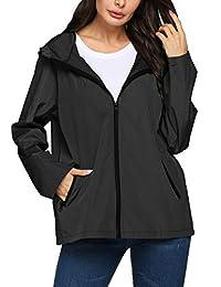 女式防雨夹克防水轻量风衣雨衣户外活动