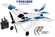 Top Race 遥控飞机 3 通道遥控飞机 成人准备飞行遥控飞机 可轻松飞行 适合成人和高级孩子的*礼物玩具 *螺旋桨 Saver (TR-C285G)