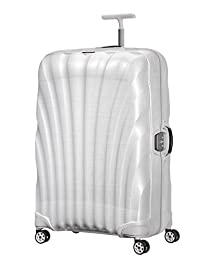Samsonite lite-locked–spinner 81/ 30手部行李,81cm ,122升,白色(米白色)