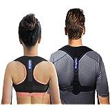 Posture Corrector 女士和男士护踝 有效舒适可调节姿势后支撑 用于姿势带 背部支撑姿势矫正器护踝