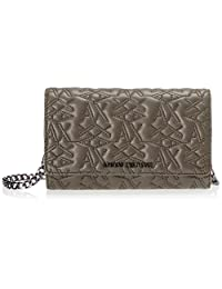 A X Armani阿玛尼Exchange女士带链钱包,青铜色