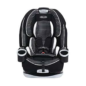 (跨境自营)(包税) 美版Graco葛莱儿童安全座椅4ever All-in-One Convertible 黑条纹