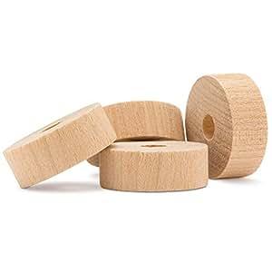 "Woodpeckers 木制工艺玩具板轮 1"" Inch sfw-1-50"