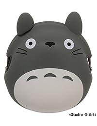 吉卜力工作室 龙猫 硅蛙嘴 灰色 高度约9.5cm