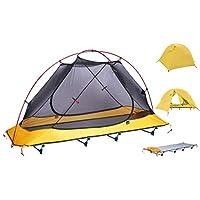DEДWALKER 野营床,户外床超轻床便携无床储物袋,2.8 磅