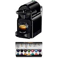 De'Longhi 德龙 Nespresso Inissia EN 80.B 胶囊咖啡机,高压泵,节能功能,紧凑型设计,黑色