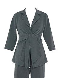 美国孕妇 Audrey 3/4 袖前系带外套