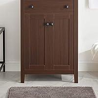 Modway EEI-3876-WAL Nantucket 24 英寸浴室梳妆柜,胡桃木色