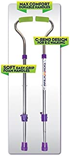 Geospace Original Walkaroo Wee Balance Stilts Lite (Aluminum) for Beginners Ages 4 and up