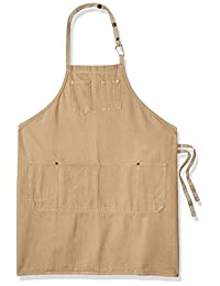 Chef Works ALWCD026-NAT-0 彩色牛仔布战士围裙