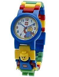 LEGO 儿童 9005732 腕表,配经典迷你人物链条