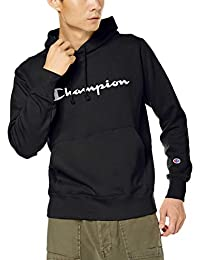 Champion 套头连帽运动卫衣 手写体徽标图案 基本款 C3-Q107 男士