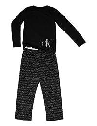 Calvin Klein 男孩 2 件套舒适上衣 W 裤子套装