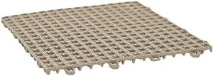 DuraGrid DNSGRY 防滑棉布,30.48 厘米 x 30.48 厘米 x 1.27 厘米,灰色 12 包 DNSBGE