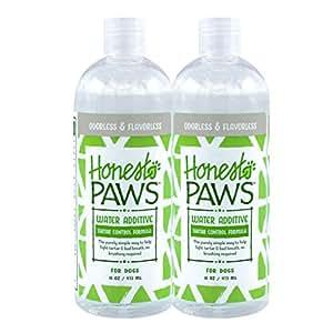 Honest Paws 天然狗狗牙膏,香草姜味,2 支装,包括 2 支超大号牙膏 2 件装