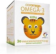 Coromega 高樂美嘉 兒童DHA 大腦視力健康1盒 30包