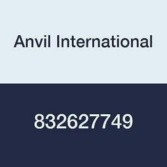 Anvil International 0832627749 超重表 80 黑色钢无缝管奶嘴,27.94 厘米 x 11.43 厘米