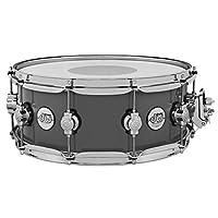 Drum Workshop DW Drums DESIGN SNARE 5.5x14 英寸钢灰色 DDLG5514SSSG