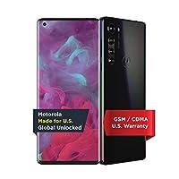 Motorola Edge | 解锁 | 由Motorola 在美国制造 | 6/256GB | 64MP 摄像头 | 2020 | 太阳黑