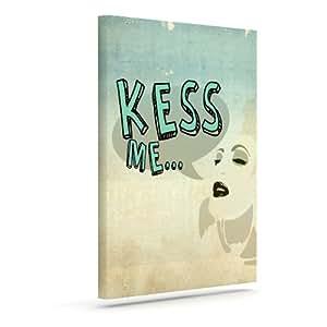 """Kess InHouse iRuz33""""KESS Me"""" 户外帆布墙画 8"""" x 10"""" IR1004AAC01"""