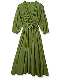 Mila Owin 棉质连衣裙 09WFO201180 女款