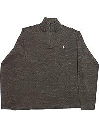 Polo Ralph Lauren 保罗拉夫劳伦男式四分之一拉链Estate 罗纹毛衣