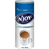N'joy 咖啡奶精,非乳制品,339.6克(每包6个)