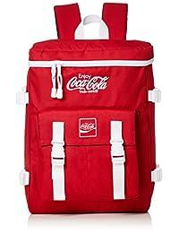 [可口可乐]可口可乐 背包 背包 背包 背包 方形背包 珊瑚色 流行 时尚 可爱 收纳性 上学用