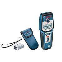Bosch 博世 數字探測器GMS 120(1件 9 V塊電池,保護殼,鋼/銅/帶電電纜探測深度深達:120/80/50 mm)