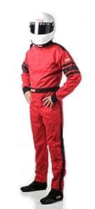RaceQuip 110 系列 SFI 3.2A/1 单层单件驾驶服 XX-L 红色 110017
