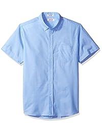 IZOD 制服青年男式短袖牛津衬衫