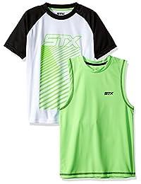 STX 男孩肌肉背心和 T 恤套装