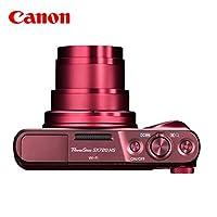 佳能/Canon PowerShot SX720 HS 长焦数码相机 家用旅游相机 (红色【官方标配】)