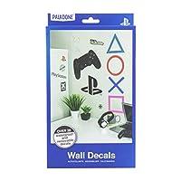 Paladone PP6581PS Playstation 22 贴纸非常适合游戏玩家的礼物   防水,可移除乙烯基墙贴,多色