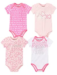 Calvin Klein 女宝宝连体服 4 件套