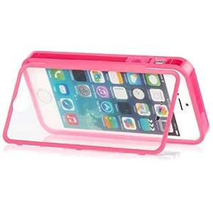 iCues TPU 触摸手机壳适用于苹果 iPhoneTPU Touch Cover Apple iPhone 5S/5 粉色