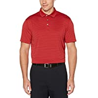 PGA TOUR 男式短袖色织染料条纹 Polo 衫