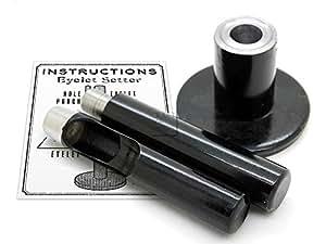 "CRAFTMEmore 索环工具眼孔打孔器 Anvil and Hole Punch Cutter 适用于 1/2"" (13 mm) 索环 1/2"" (13 mm) CRAFTMEmore"