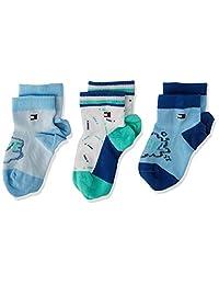 Tommy Hilfiger 汤米·希尔费格 中性婴儿袜子 3件装