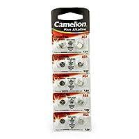Camelion 飞狮 AG4-BP10 超强碱性AG4钮扣电池 10粒卡装
