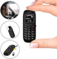 L8star 迷你小型手机 BM70 GSM 蓝牙拨号器耳机支持 SIM 卡 0.66 英寸(黑色)